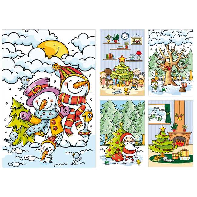 KiKa kaartenset - Kerst
