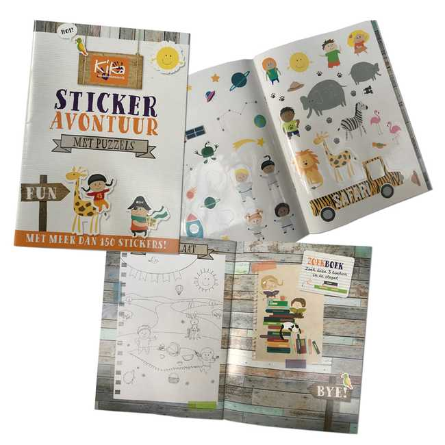 KiKa stickerboek