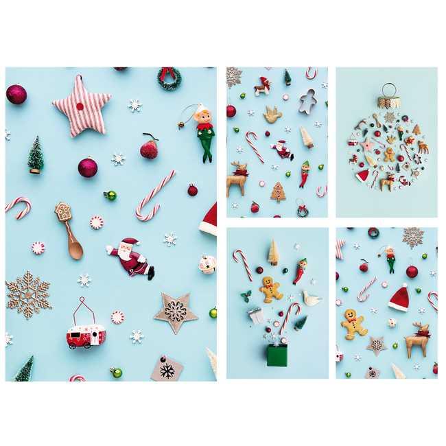 KiKa kaartenset kerst