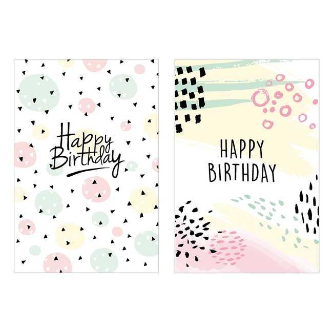 KiKa kaartenset - verjaardag